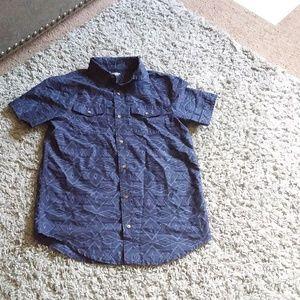 Arizona Jean boys casual button-down shirt